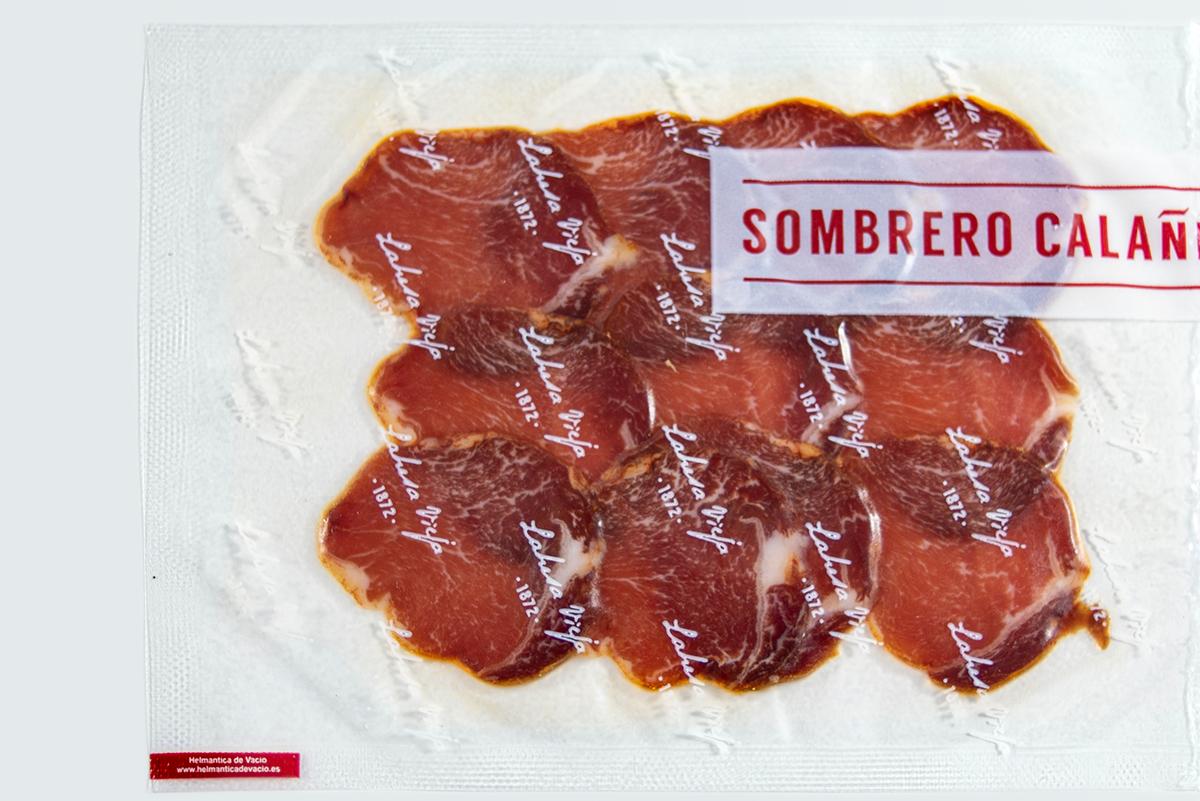 Imagen 1 de: Loncheado Caña Lomo Bellota 100% Ibérica Sombrero Calañés
