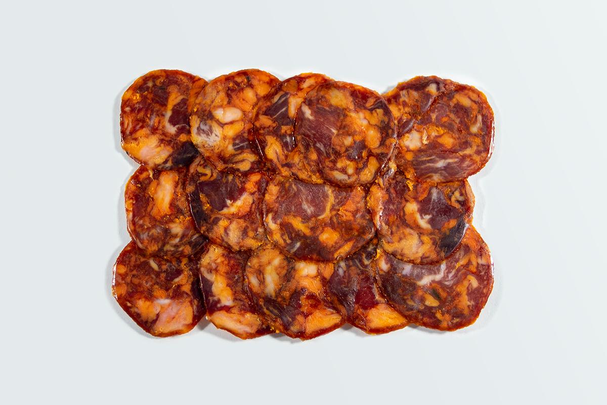 Imagen 4 de: Loncheado Chorizo Ibérico Bellota Sombrero Calañés