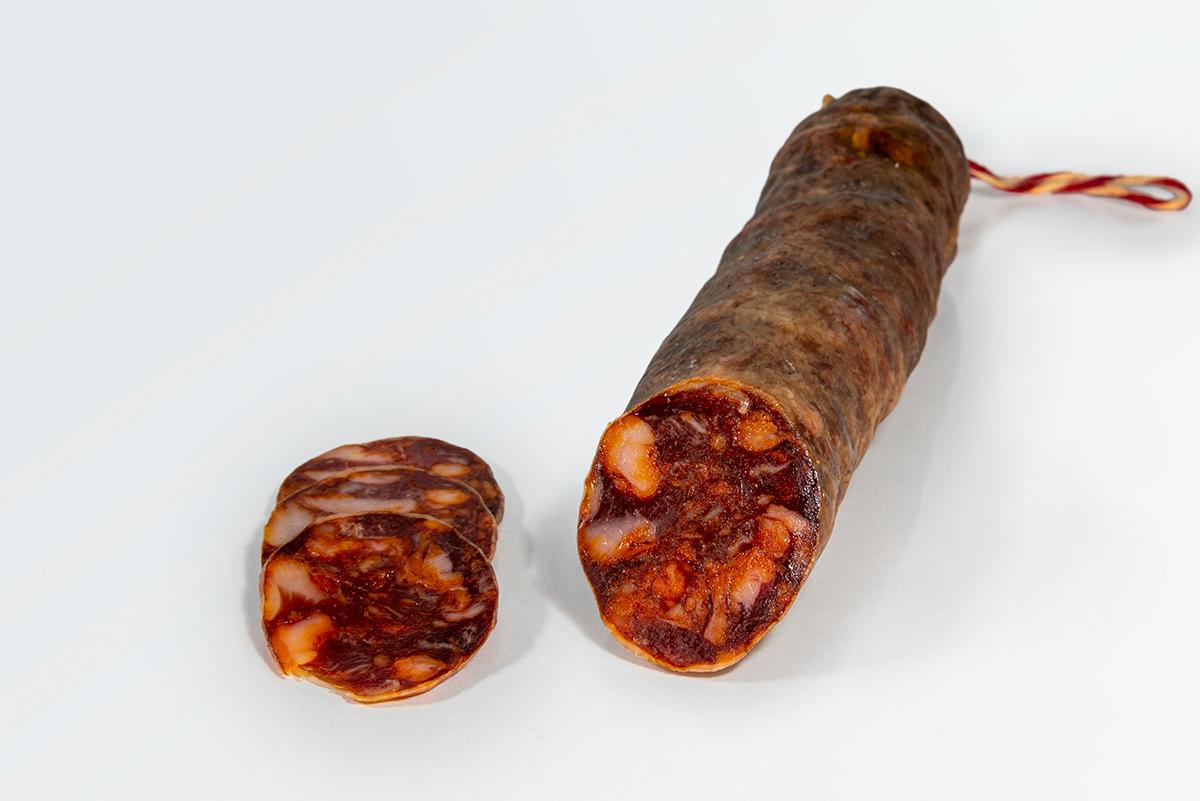 Imagen 3 de: Chorizo ibérico bellota Sombrero Calañés