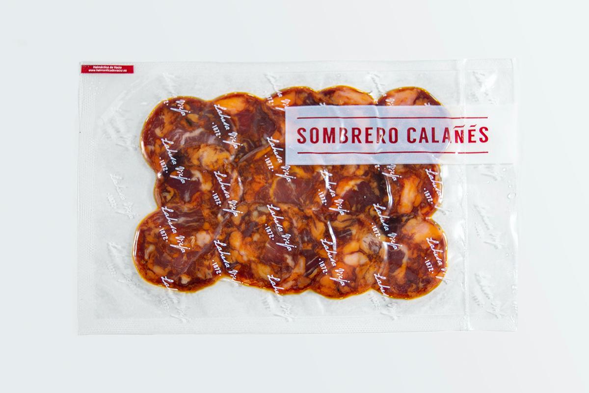 Imagen 2 de: Loncheado Chorizo Ibérico Bellota Sombrero Calañés