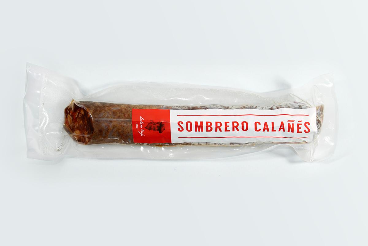 Imagen 2 de: Chorizo ibérico bellota Sombrero Calañés