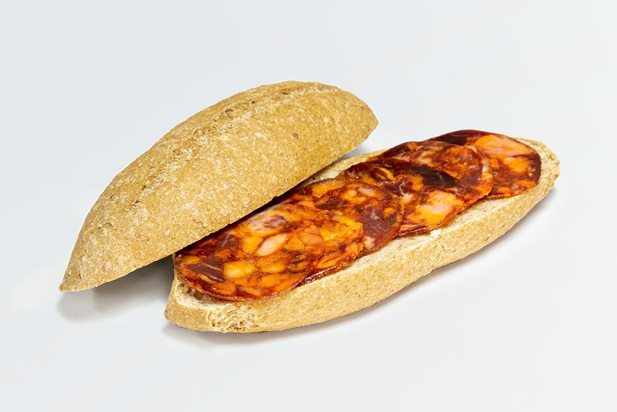 Imagen 3 de: Loncheado Chorizo Ibérico Bellota Sombrero Calañés