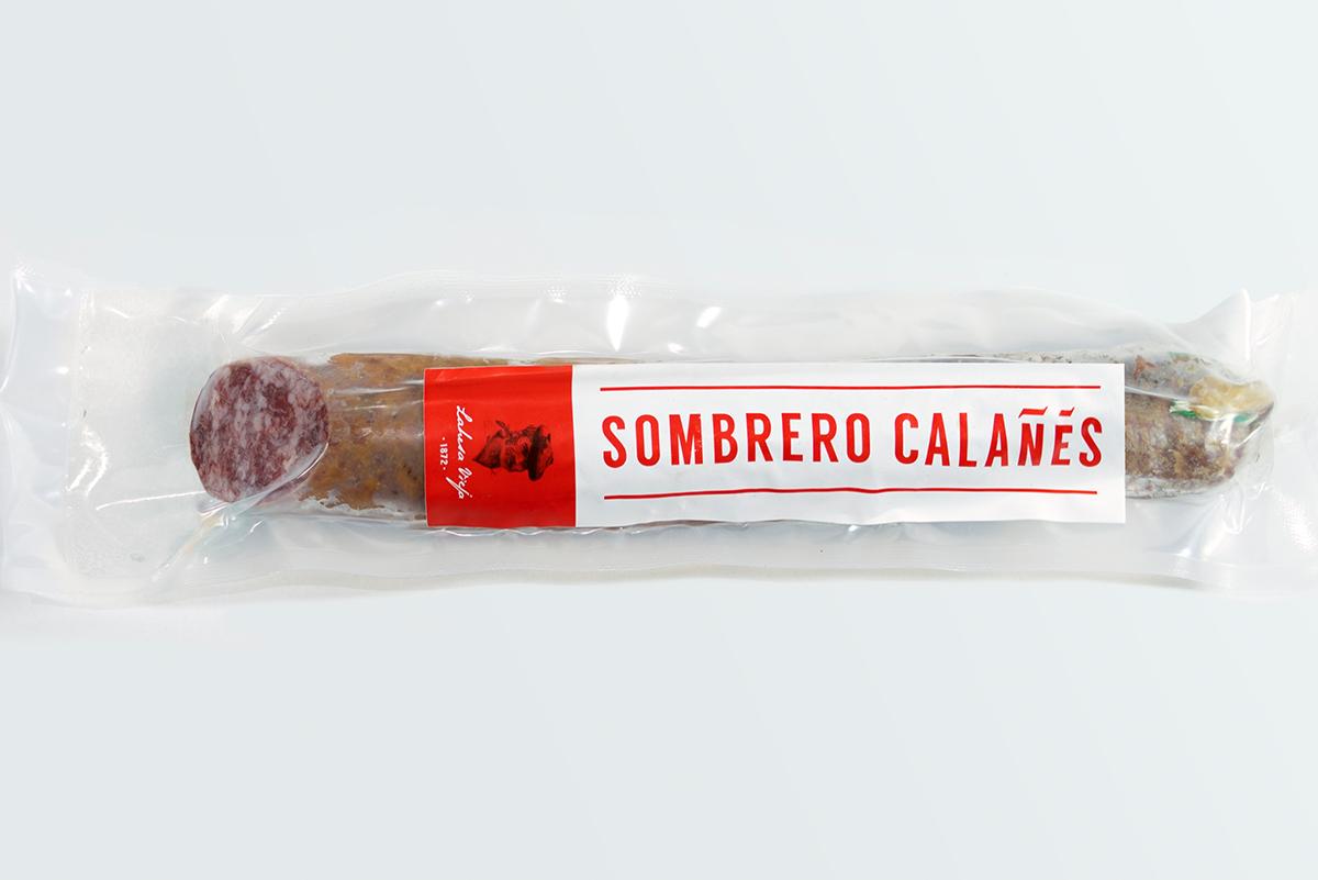 Imagen 2 de: Salchichón ibérico bellota Sombrero Calañés